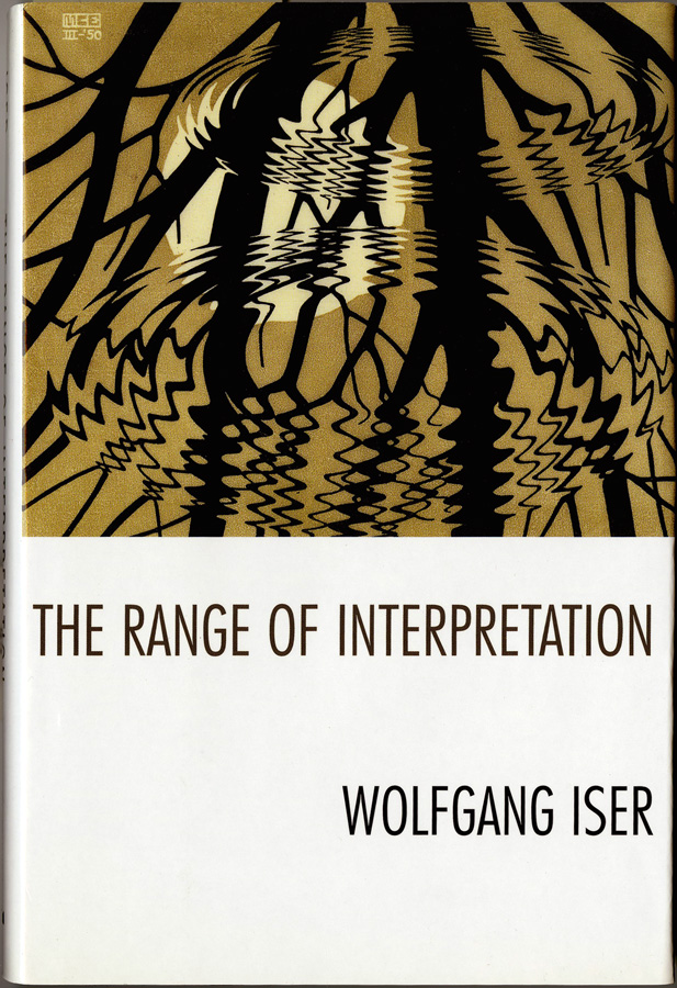 Cover of Wolfgang Iser's The Range of Interpretation