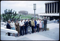 Members of UCI's first graduating class, 1966.