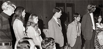 Recipients are honored at the Lauds and Laurels ceremony in 1975.