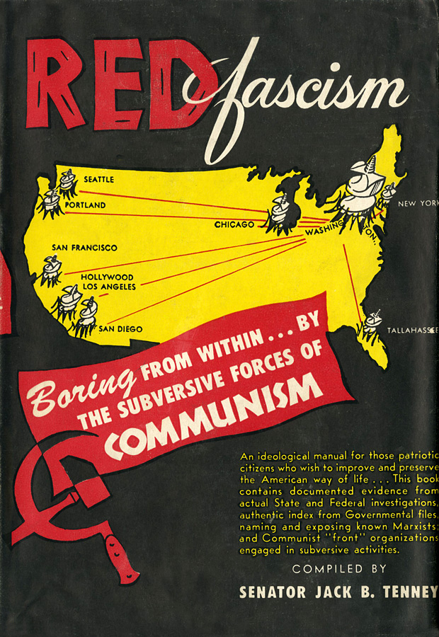 Red Fascism; Boring from Within ... by the Subversive Forces of Communism.