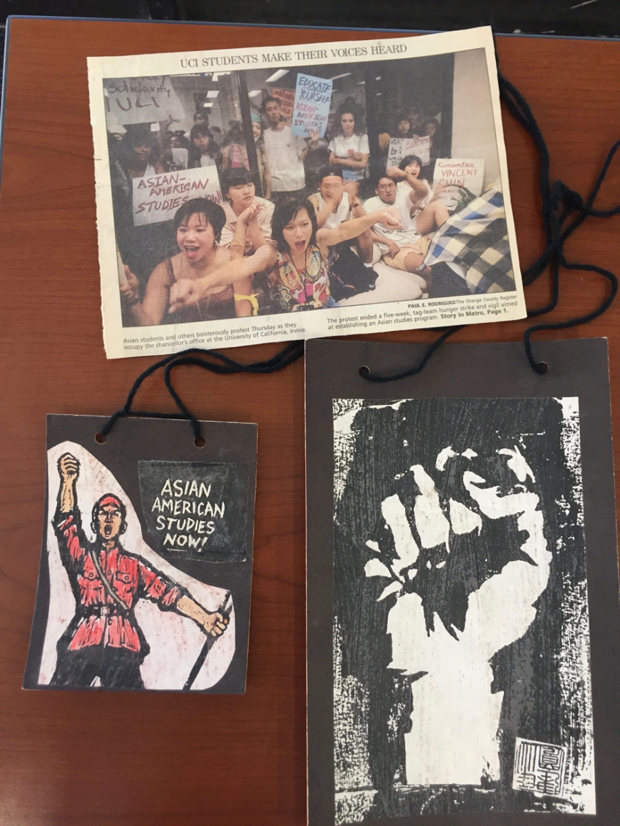 SCA material related to Activism for the Department of Asian American Studies